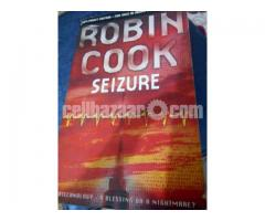 Fiction book for sale Robin Cook's seizure