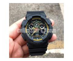 WW0149 Original Casio G-Shock Sports Watch GA-100BY-1A