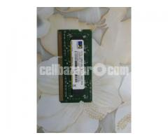 Laptop RAM 4GB DDR3 (1600 bus)