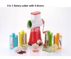 4 In 1 Rotary Grater And Slicer-Vegetable cutter