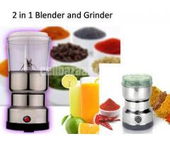 2 in 1 Blender and grinder