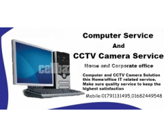 Computer CCTV Services Provided At Home/Office Dhaka city