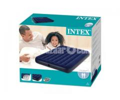 Intex Double Size Airbed / Air Bed / Air Mattress With Pump