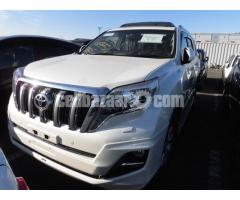 TOYOTA LAND CRUISER PRADO,TRJ150W,TX-.L,PROJECTION LED HEAD LAMP,5D,AT,AAC,PS,PW,AIR BAG,ABS,FOG,ORI - Image 2/5