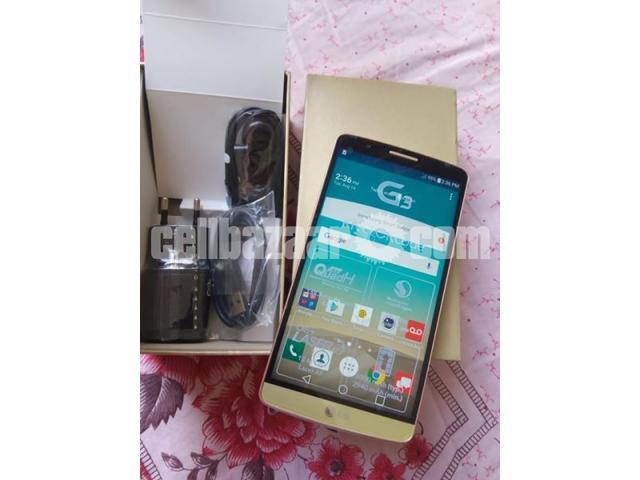 LG G3 RAM 3GB ROM 32GB ORIGINAL  NEW FULL BOX - 1/1