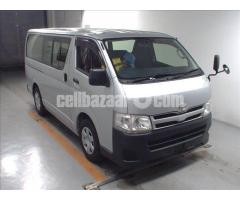 Toyota Hiace GL Pkg Silver Color Model 2013
