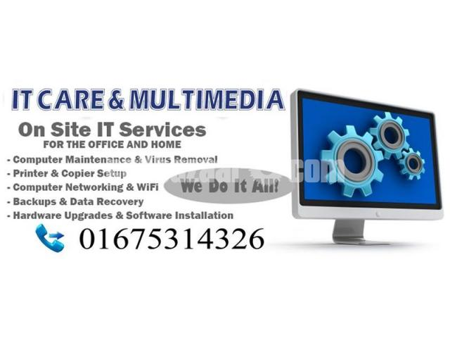 Computer & IT Service In Dhaka @ Low Cost - 3/5