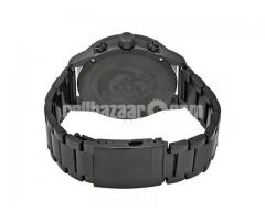 WW0151 Original Diesel Rasp Black Sunray Dial Chronograph Chain Watch DZ4453 - Image 4/4