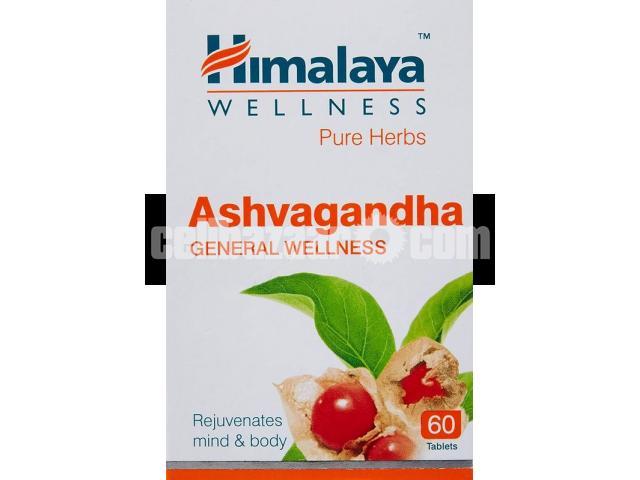 Hymalya ashowghanda -(60 Tabs - 2/3