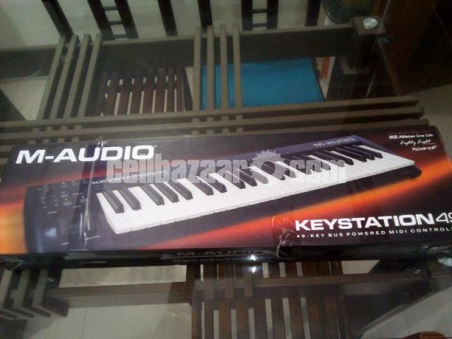M Audio Keystation 49 Midi Keyboard - 1/1