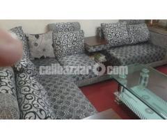 NADIA: L-Shape Sofa