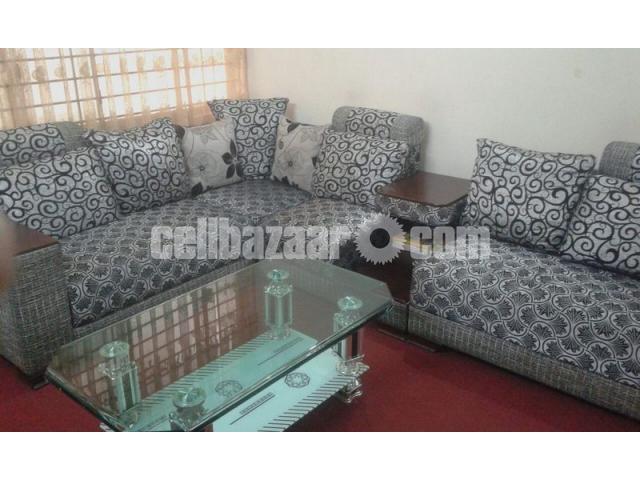 NADIA: L-Shape Sofa - 2/3