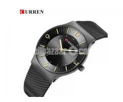 WW0163 Original Curren Slim Mesh Chain Watch 8304
