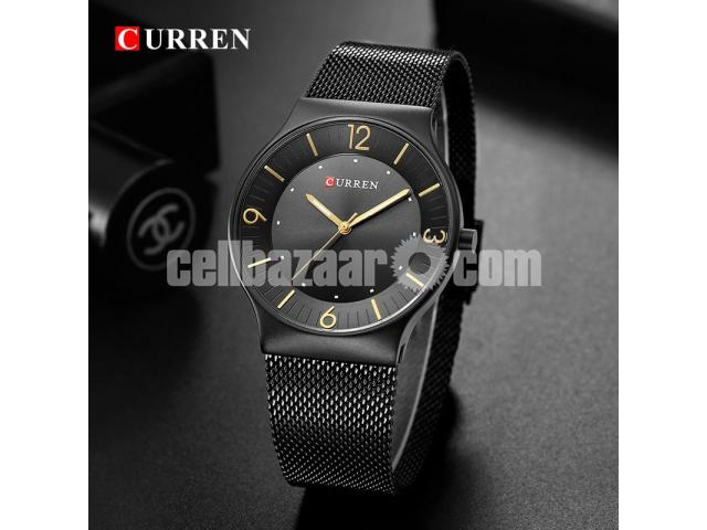 WW0163 Original Curren Slim Mesh Chain Watch 8304 - 2/5