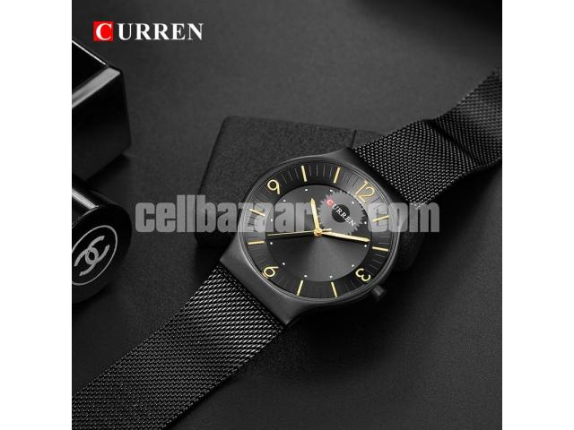 WW0163 Original Curren Slim Mesh Chain Watch 8304 - 4/5