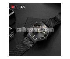 WW0163 Original Curren Slim Mesh Chain Watch 8304 - Image 4/5