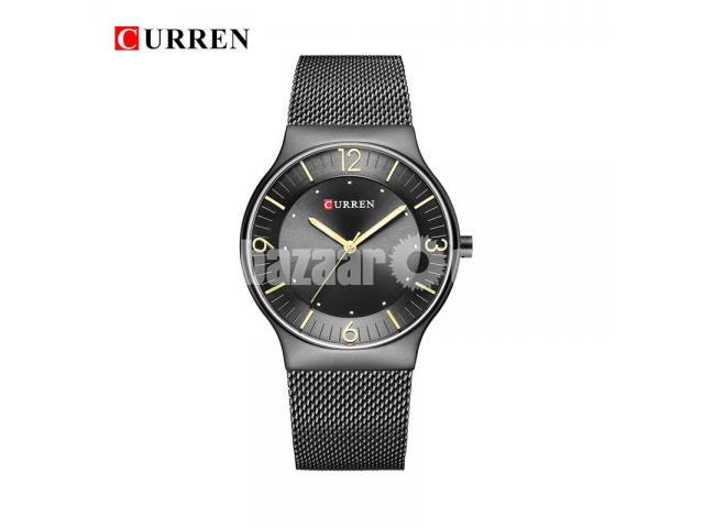 WW0163 Original Curren Slim Mesh Chain Watch 8304 - 5/5
