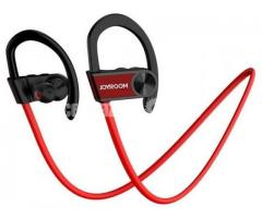 JOYROOM JR-D2 Bluetooth 4.1 Wireless Headset Headphone with Microphone for Sports -red