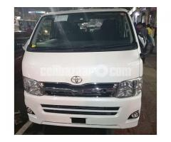 Toyota Hiace Super GL Pkg Pearl Color Model 2013