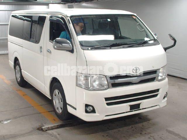 Toyota Hiace Super GL Pkg White Color - 1/4
