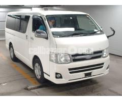 Toyota Hiace Super GL Pkg White Color