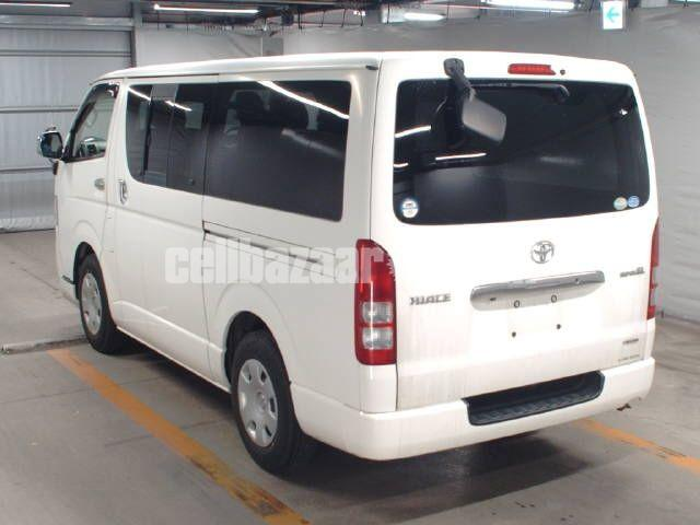 Toyota Hiace Super GL Pkg White Color - 2/4