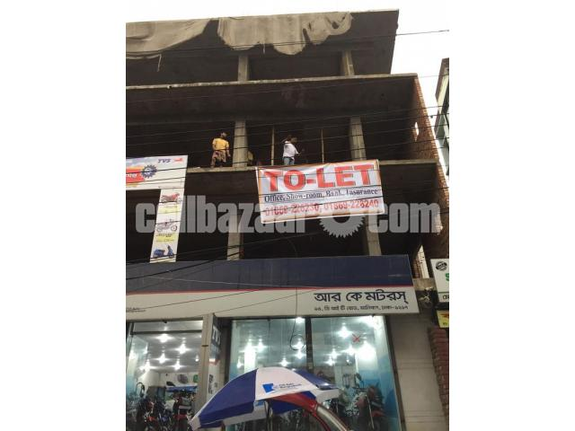 Commercial Space for Rent in Malibag - 3/5