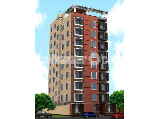 1350sft flat sale @ mirpur - 1/1