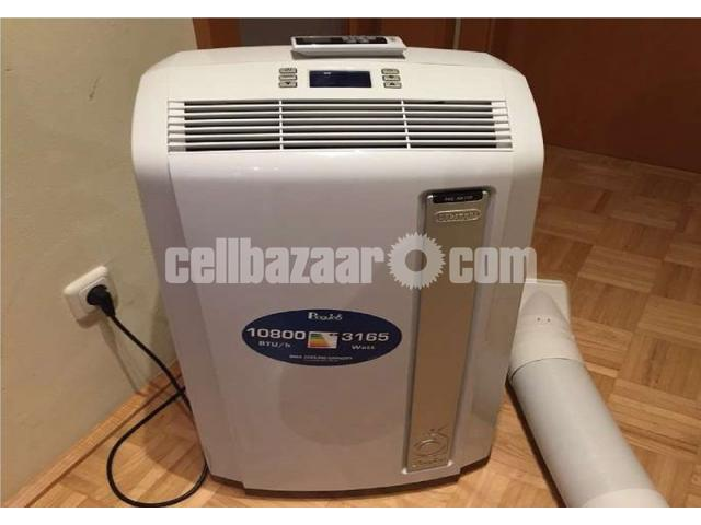 Portable AC (Brand: Delonghi) - 1 ton - 1/4