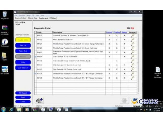 Toyota techstream tis scanner - 3/4