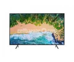 SAMSUNG 4K HDR FLAT SMART 49NU7100 TV