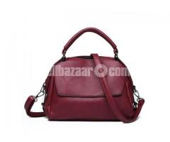 Stylish High Quality Leather Women Hand Bag