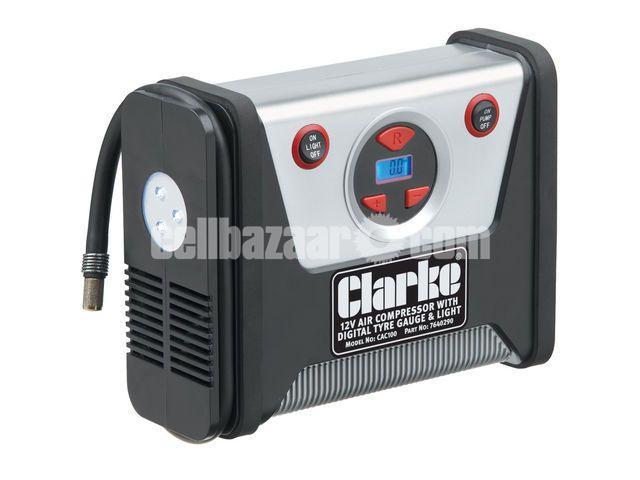 Clarke CAC100 12V Tyre Inflator/Air Compressor - 1/1