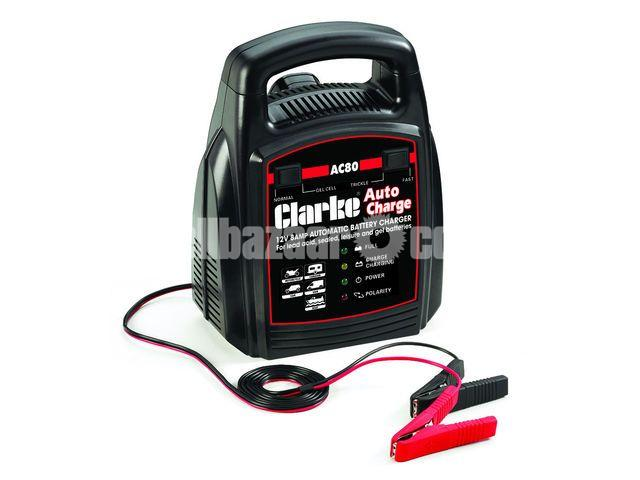 Clarke AC80 12V 8A Automatic Battery Charger - 1/1