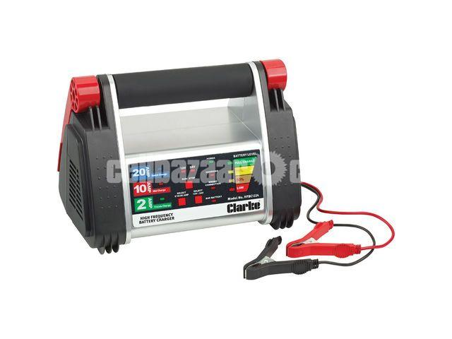 Clarke HFBC12/24 High Frequency Battery Charger (230V) - 1/1