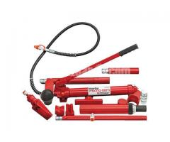 """Clarke CS10SBRK 10 Ton Body Repair Kit with Fast Action Pump """