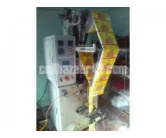 Food & Detergent Item Packaging with Compressor