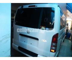Toyota Hiace Dual Ac White Color Model 2013