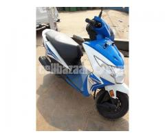 Honda Dio Scooter -Blue Color, 110cc, Only 1200 KM Run