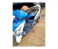 Honda Dio Scooter -Blue Color, 110cc, Only 1200 KM Run - Image 3/5
