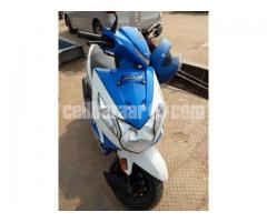 Honda Dio Scooter -Blue Color, 110cc, Only 1200 KM Run - Image 4/5