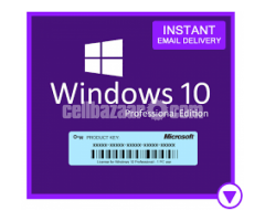 Windows 10 PRO OEM License key for lifetime active. 100% Genuine