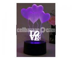 LED 3D Nught Light