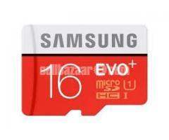 Samsung EVO MicroSD Memory Card 16 GB