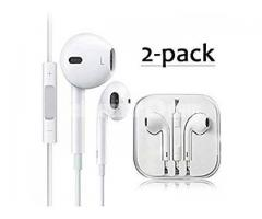 Premium Earphones Stereo Headphones, wired earphones with Built-in Microphone & Volume Control