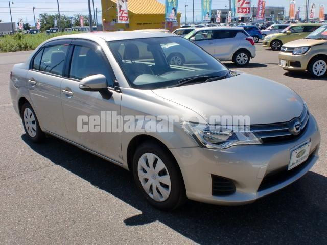 Toyota Axio G Beige 2013 Push Start - 1/5