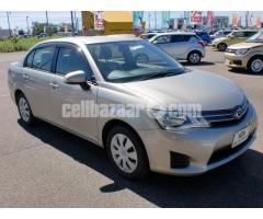 Toyota Axio G Beige 2013 Push Start - Image 1/5