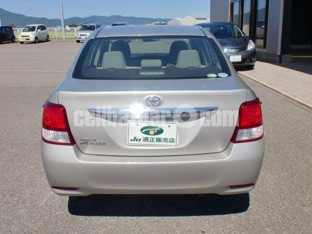 Toyota Axio G Beige 2013 Push Start - 2/5