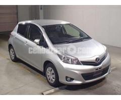 Toyota Vitz U Ltd 2012 Silver