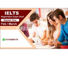 IELTS Registration Super Deal